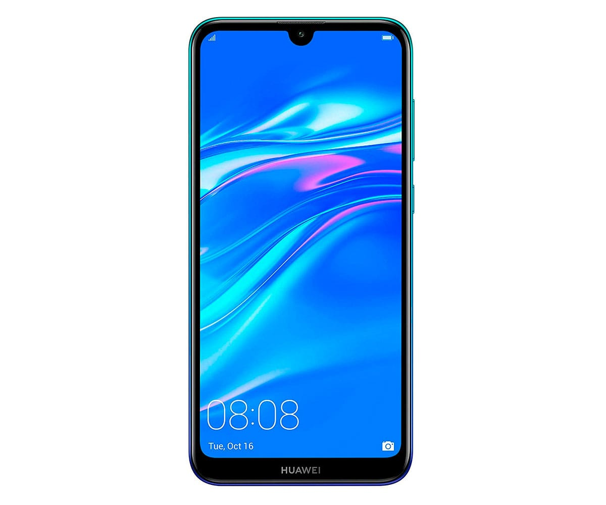 HUAWEI Y7 2019 AZUL MÓVIL 4G DUAL SIM 6.26 IPS HD+/8CORE/32GB/3GB RAM/13MP+2MP/8MP - Y7 2019 AZUL
