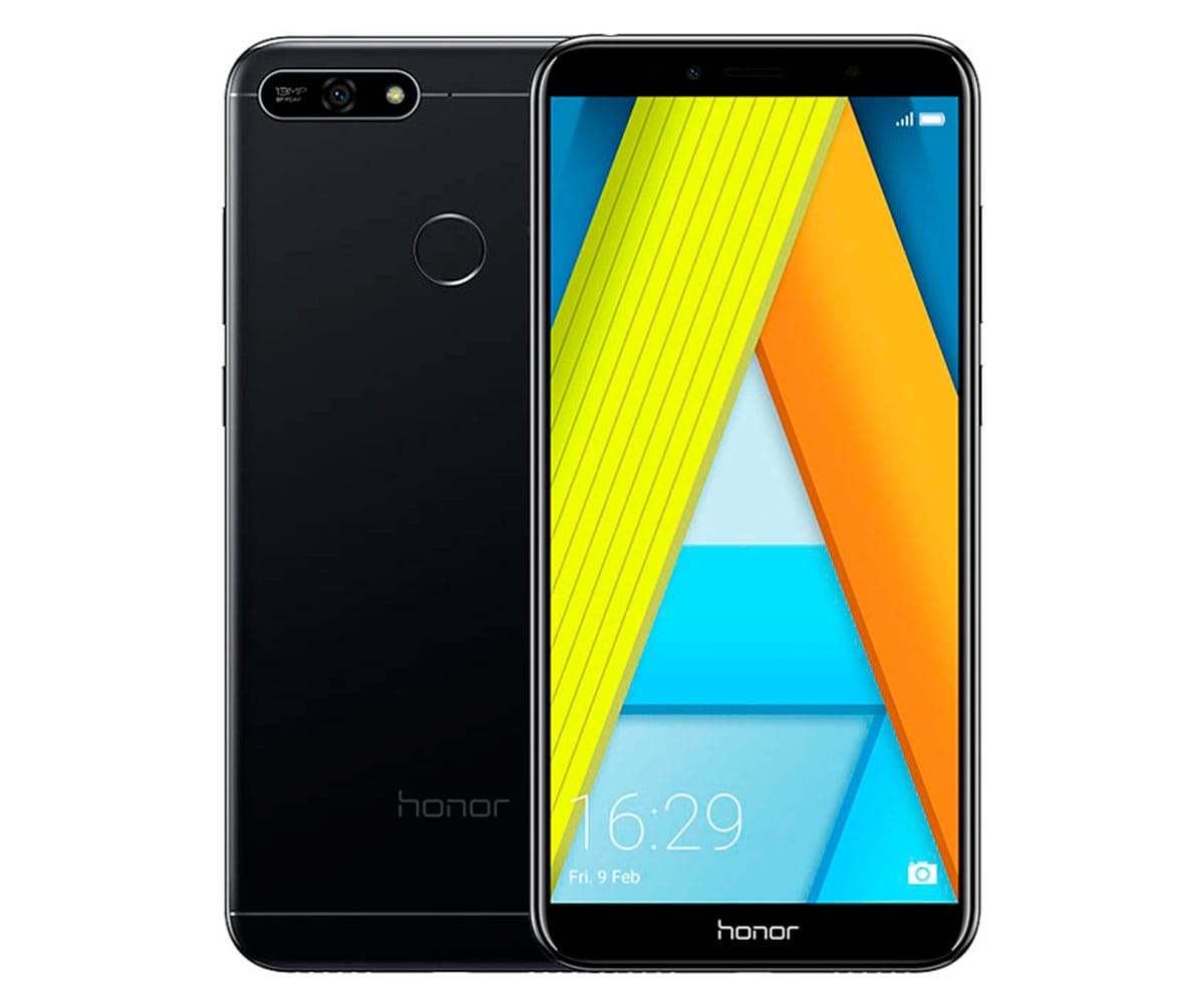 HONOR 7A NEGRO MÓVIL 4G DUAL SIM 5.7'' IPS HD+/8CORE/16GB/2GB RAM/13MP/8MP