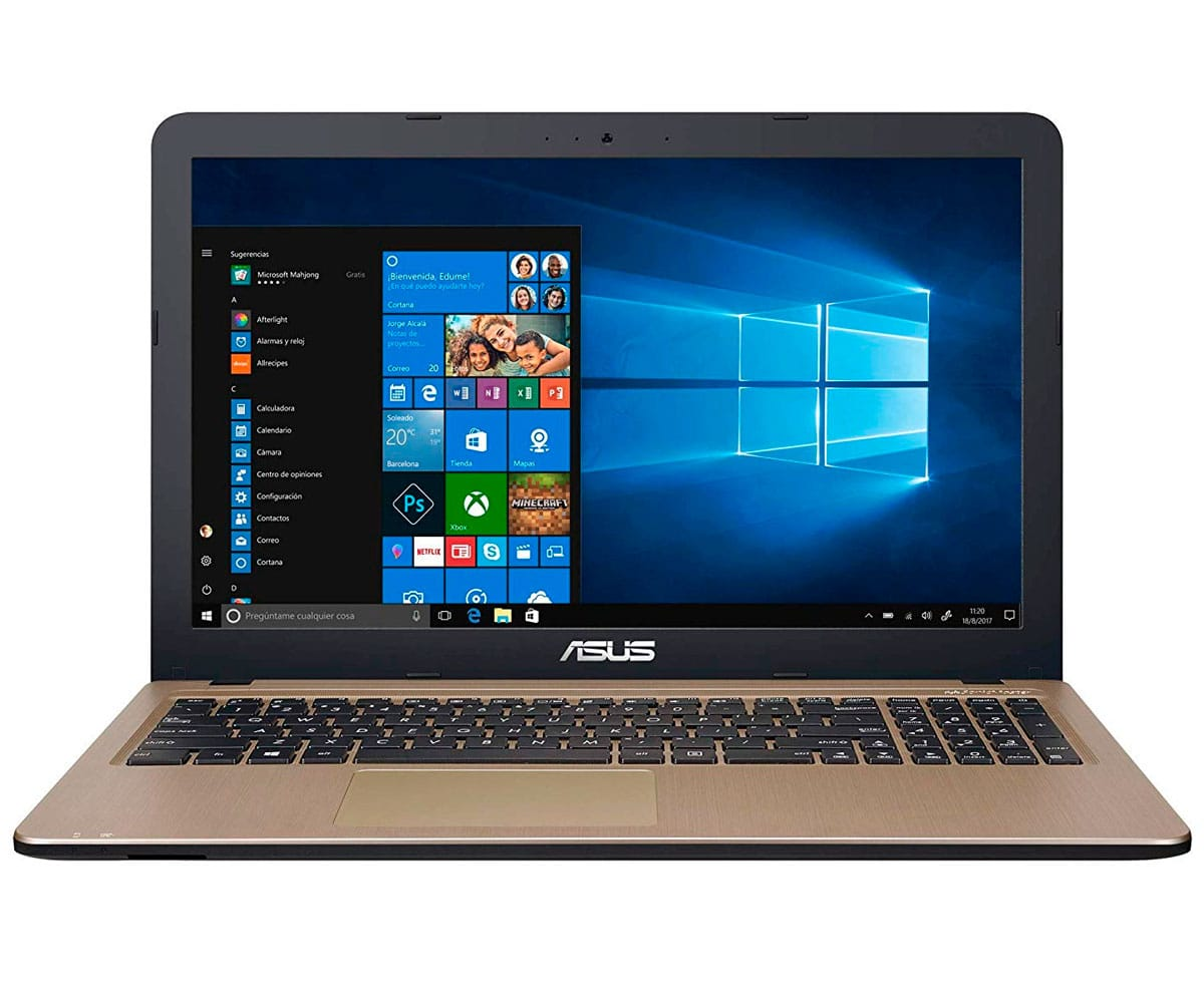ASUS X540UB-GQ491T PORTÁTIL NEGRO CHOCOLATE 15.6 LCD LED HD READY/i5 3.4GHz/HDD 1TB/8GB RAM/NV-MX1 - X540UB-GQ491T