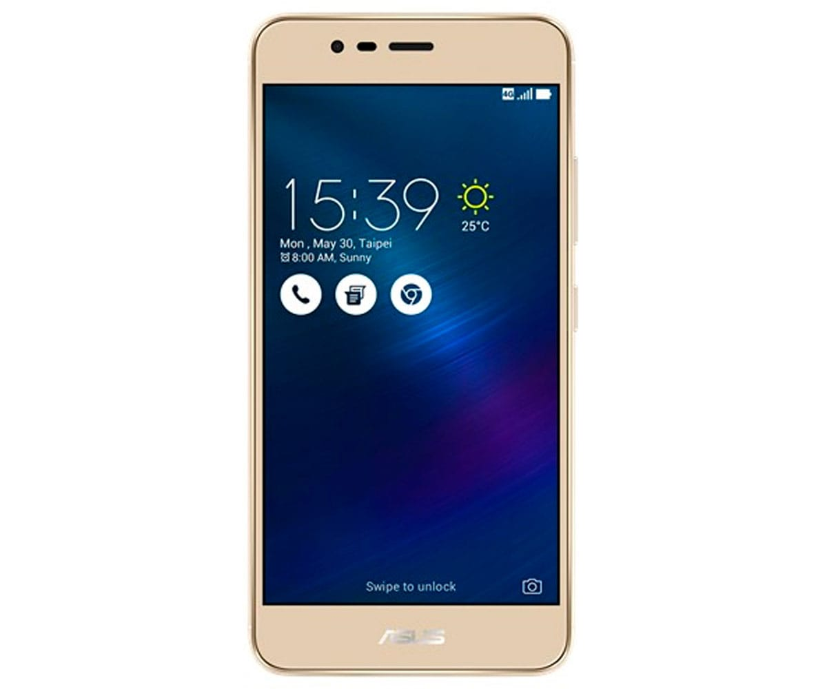 ASUS ZENFONE 3 MAX ORO ARENA MÓVIL 4G DUAL SIM 5.2'' IPS HD/4CORE/32GB/3GB/13MP/5MP