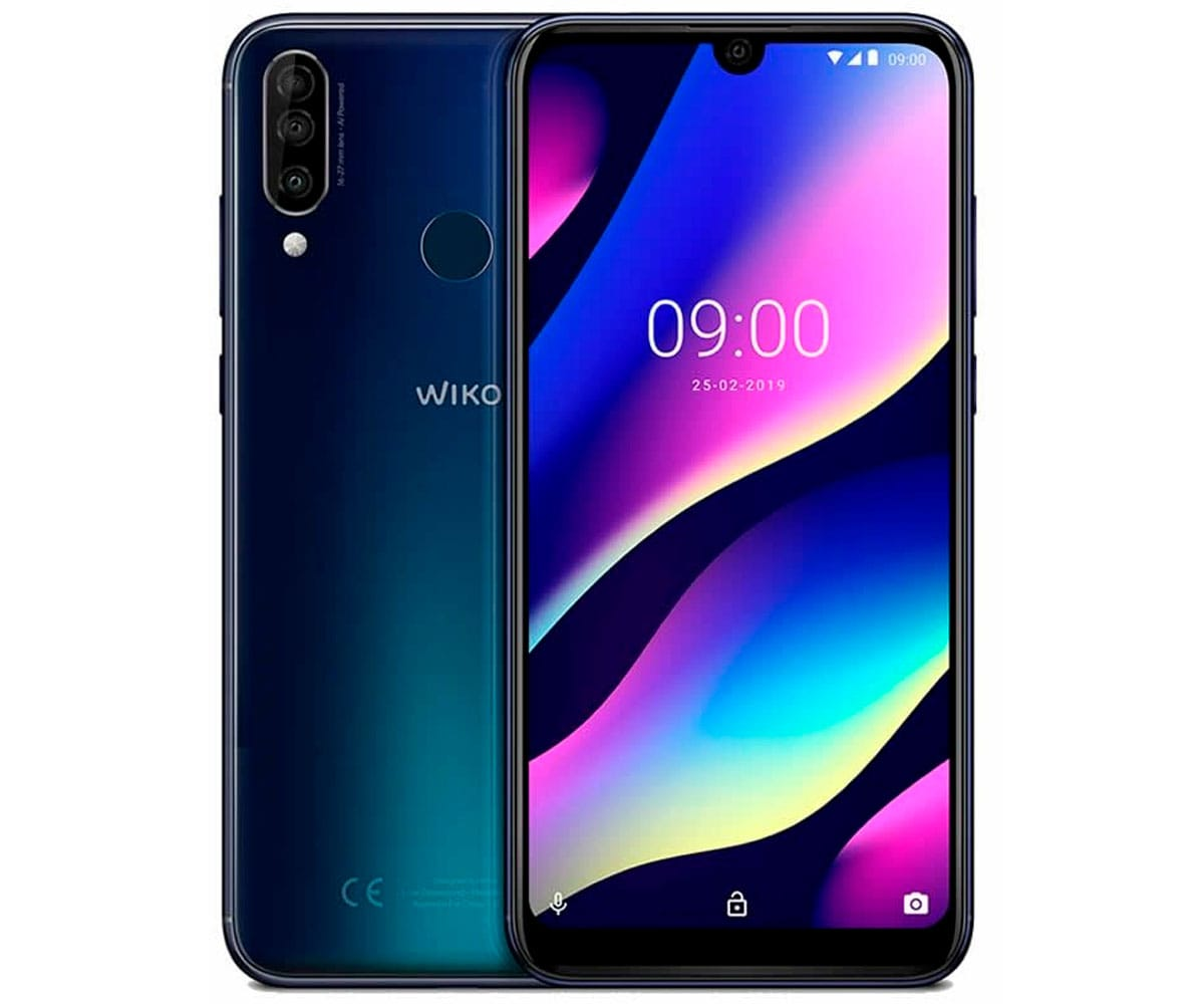 WIKO VIEW3 NIGHT BLUE MÓVIL 4G DUAL SIM 6.26'' IPS HD+/8CORE/64GB/3GB RAM/12+5+13MP/8MP