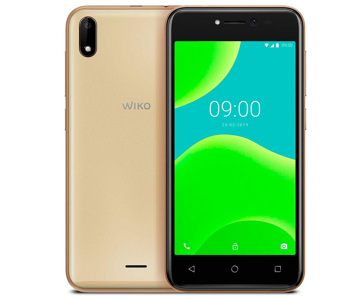 WIKO Y50 DARK GOLD MÓVIL 3G DUAL SIM 5 TN FWVGA/4CORE/16GB/1GB RAM/5MP/5MP