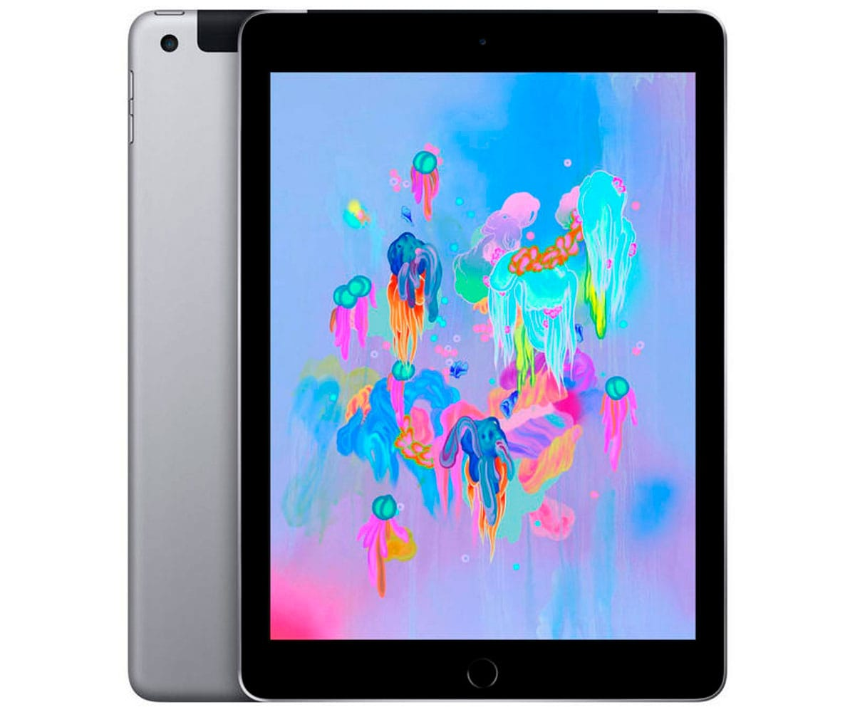 APPLE IPAD GRIS ESPACIAL TABLET WIFI 10.2'' RETINA/128GB/3GB RAM/8MP/1.2MP