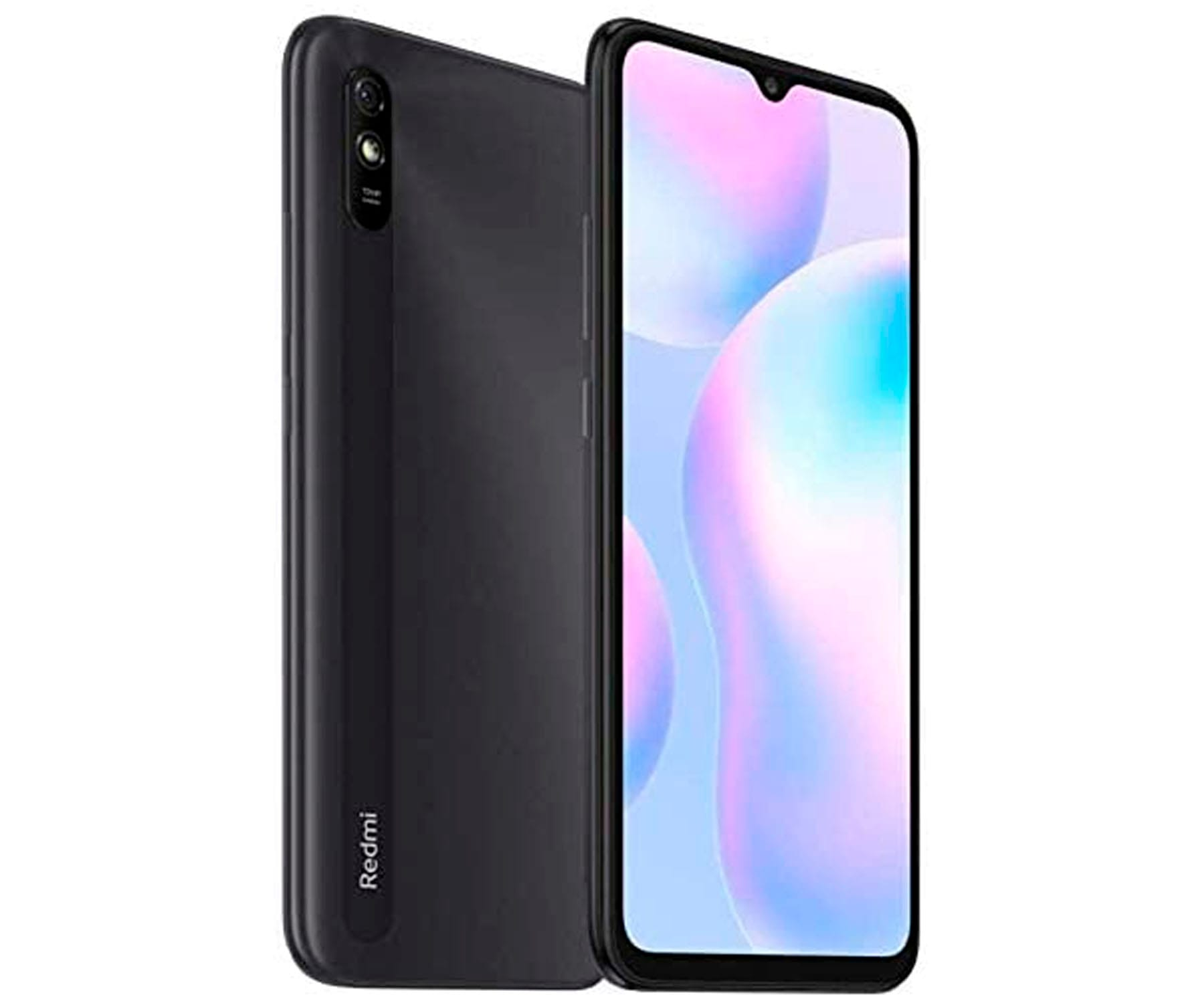 XIAOMI REDMI 9A GRIS MÓVIL 4G DUAL SIM 6.53'' HD+ OCTACORE 32GB 2GB RAM CAM 13MP SELFIES 5MP