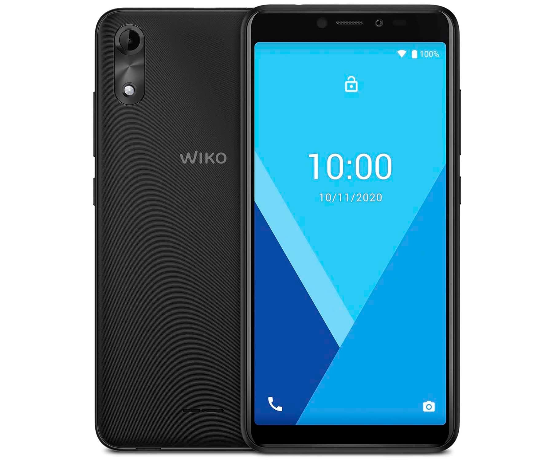 WIKO Y51 GRIS OSCURO MÓVIL 3G DUAL SIM 5.45'' TN FWVGA+ QUADCORE 16GB 1GB RAM CAM 5MP SELFIES 5MP