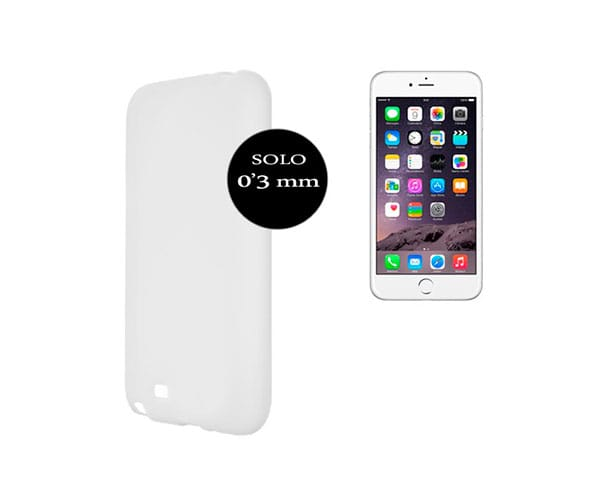 X-ONE CARCASA iPHONE 6 TRANSPARENTE - 9481