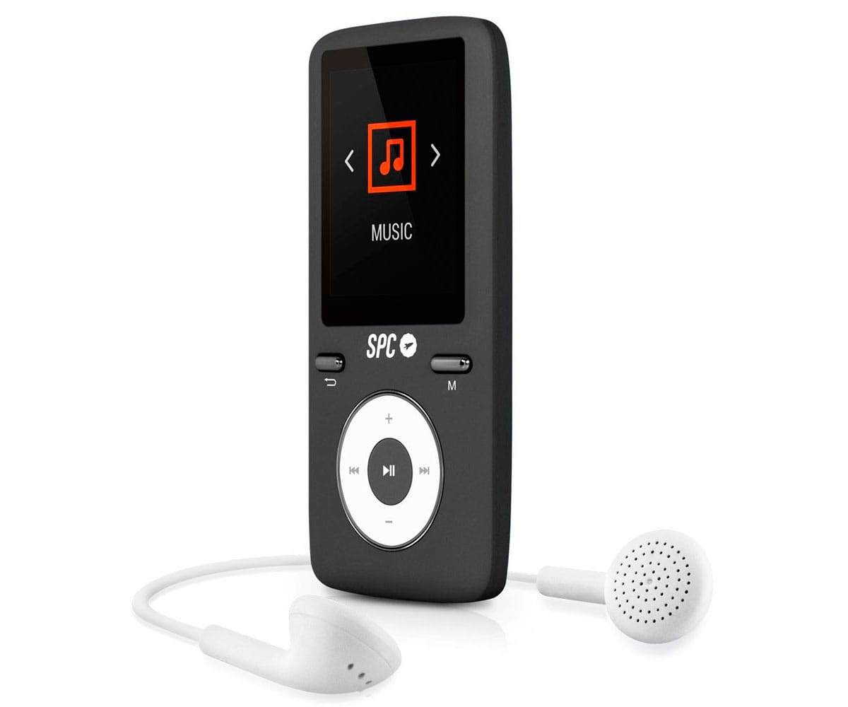SPC 8488D PURE SOUND COLOUR 2 REPRODUCTOR MP4 1.8 8GB NEGRO