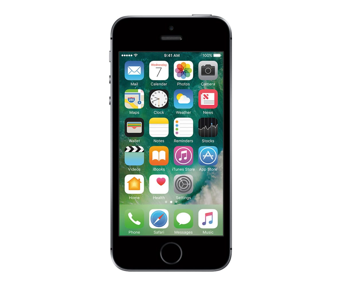 APPLE IPHONE SE 16GB GRIS ESPACIAL MÓVIL 4G 4/2CORE/16GB/2GB RAM/12MP - IPHONE SE 16GB GRIS ESPACIAL