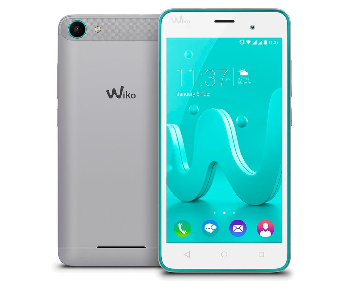 WIKO JERRY TURQUESA/GRIS MÓVIL DUAL SIM 5'' IPS/4CORE/8GB/1GB RAM/5MP/2MP