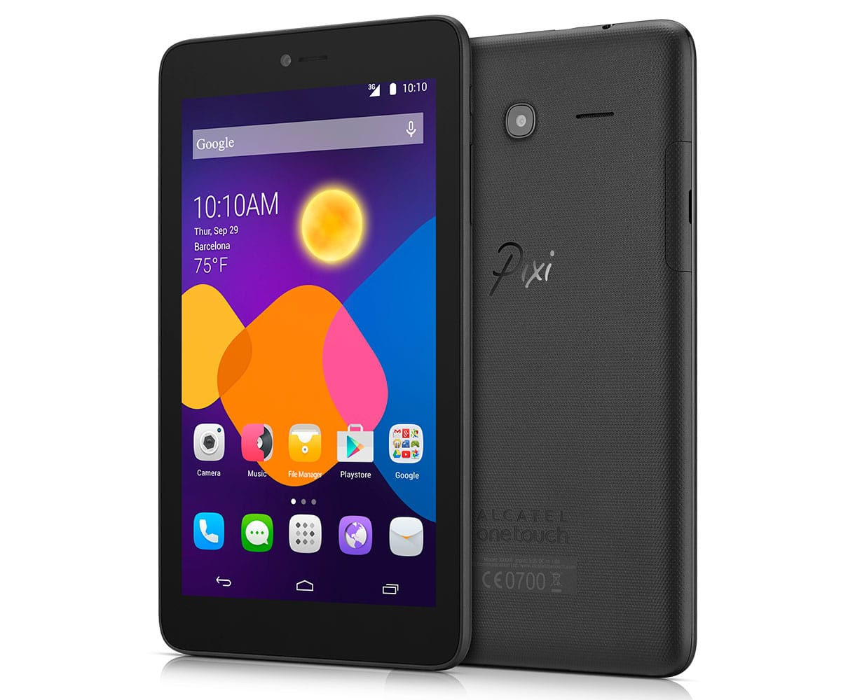 ALCATEL PIXI3 (7) 9002BL 3G NEGRA TABLET 7''/2CORE/4GB/512MB RAM/2MP/VGA