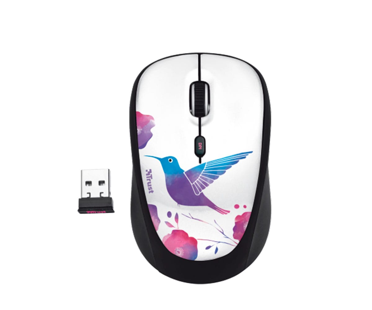 TRUST WIRELESS BIRD RATÓN INALÁMBRICO USB - YVI WIRELESS BIRD