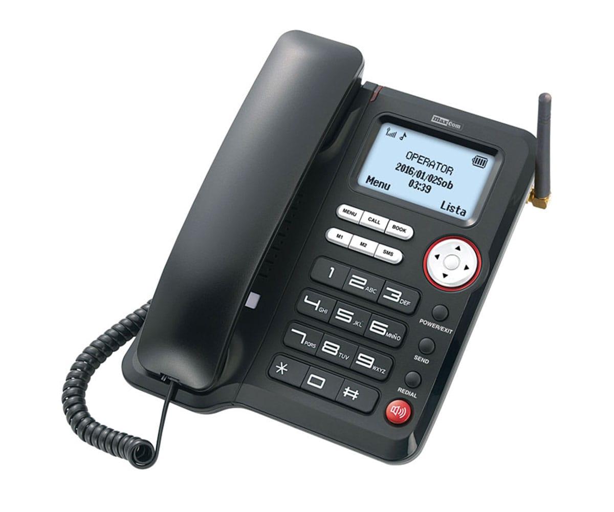 MAXCOM MM29D TELÉFONO SOBREMESA GSM 3G INALÁMBRICO - MM29D