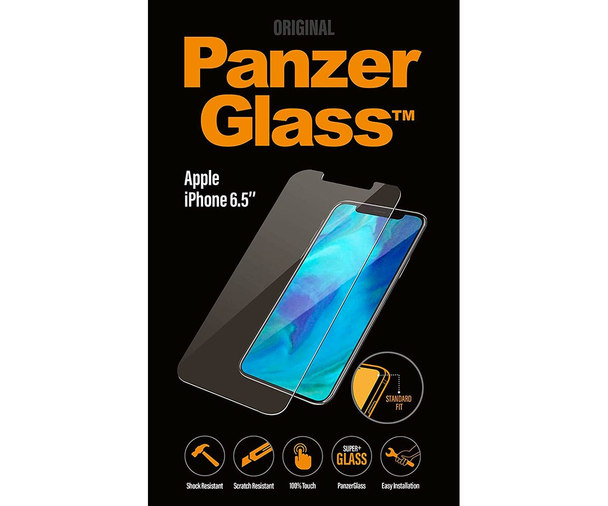 PANZERGLASS PROTECTOR CRISTAL ULTRARESISTENTE IPHONE XS MAX - STANDAR FIT IPHONE XS MAX
