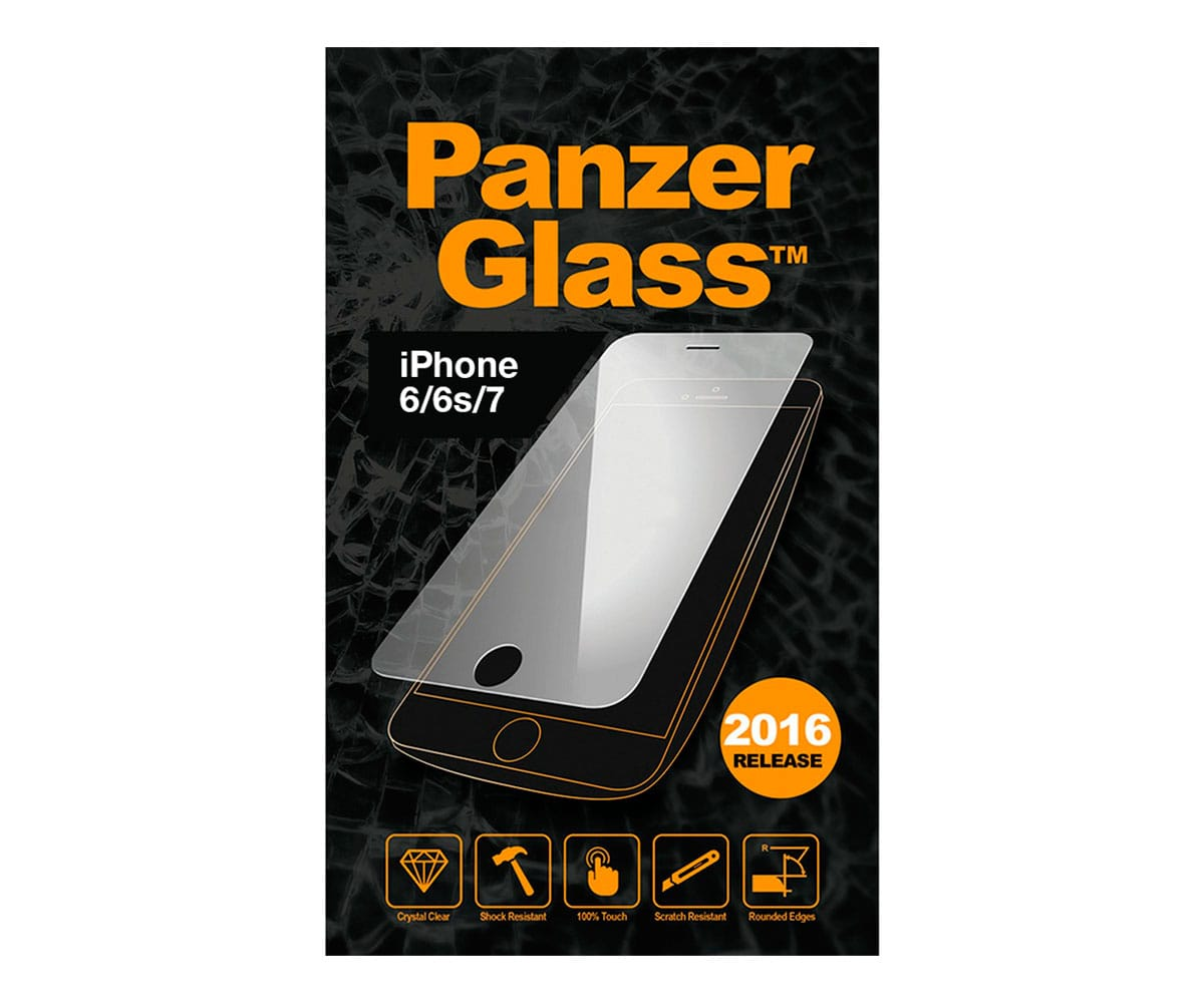 PANZERGLASS PROTECTOR CRISTAL ULTRARESISTENTE IPHONE 6/6S/7 - IPHONE 6/6S/7