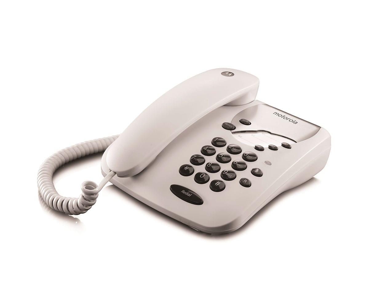 MOTOROLA CT1 BLANCO TELÉFONO FIJO CON MARCACIÓN DIRECTA - CT1 BLANCO
