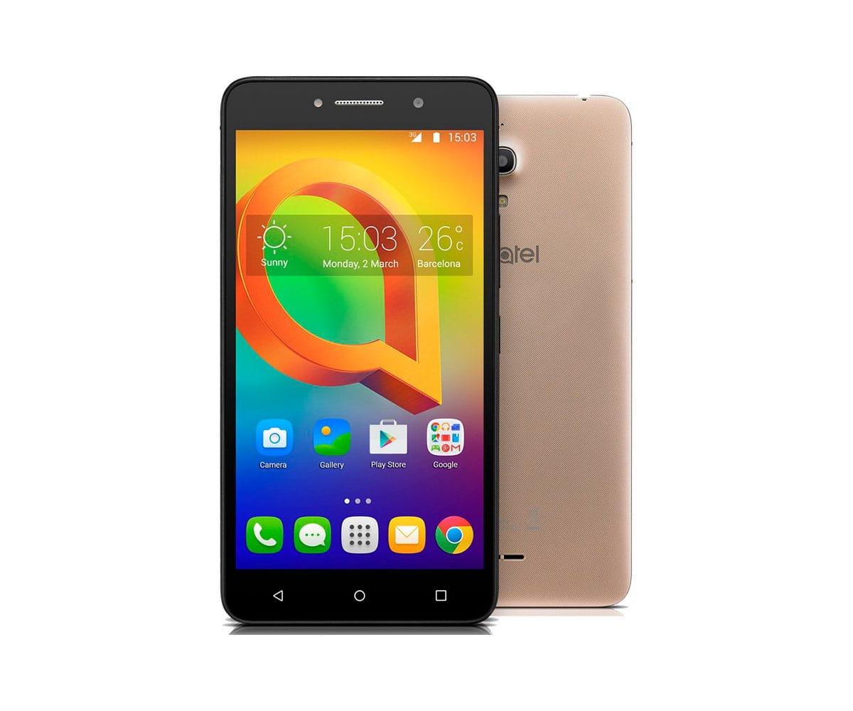 ALCATEL A2 XL 8050 DORADO MÓVIL 3G DUAL SIM 6 IPS HD/4CORE/8GB/1GB RAM/8MP/5MP - 8050 DORADO