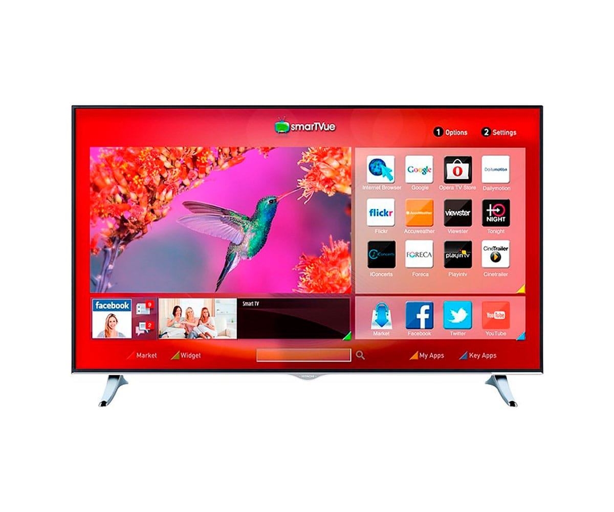 HITACHI 43HGW69 TELEVISOR 43'' LCD LED 4K UHD SMART TV WIFI BLUETOOTH