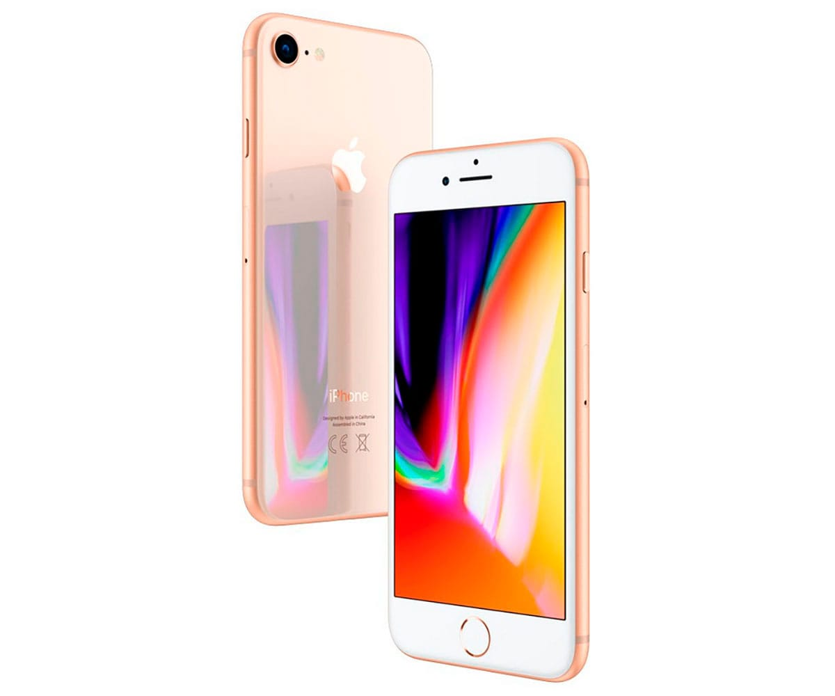 APPLE IPHONE 8 256GB DORADO MÓVIL 4G 4.7 RETINA HD/6CORE/256GB/2GB RAM/12MP/7MP -