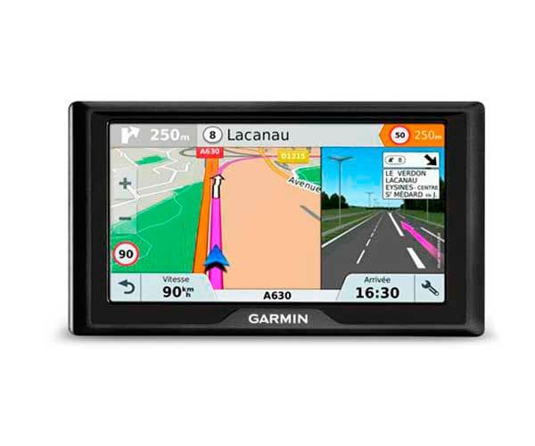 GARMIN DRIVE 61 EU LMT-S  GPS CON MAPAS PREINSTALDADOS DE EUROPA PANTALLA DE 6 ORIENTACIÓN DUAL MA -
