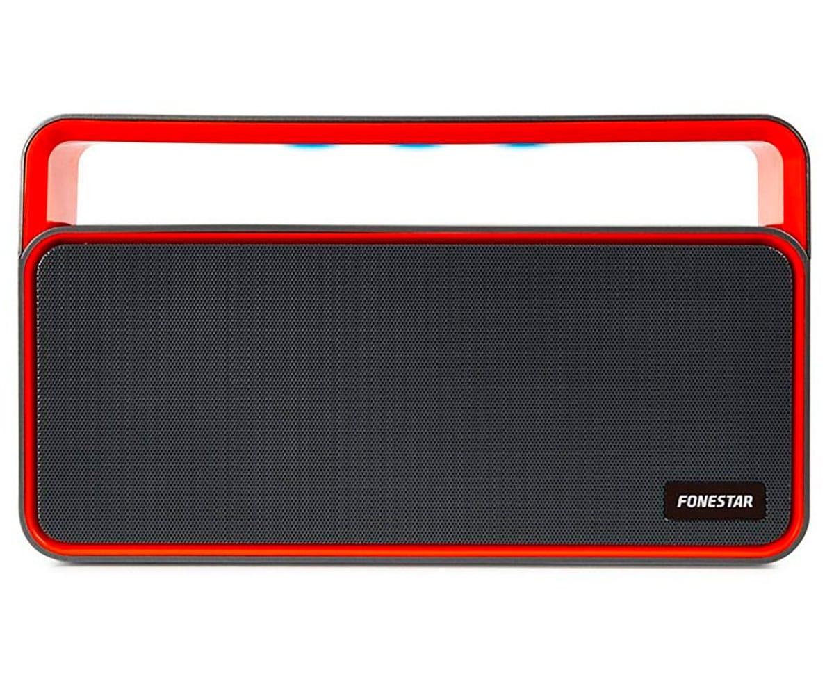 FONESTAR BLUERADIO-51 NEGRO ALTAVOZ PORTÁTIL BLUETOOTH RADIO FM USB MICROSD MANOS LIBRES INTEGRADO L -