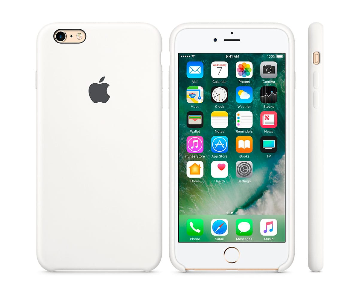 carcasa silicona apple iphone 6