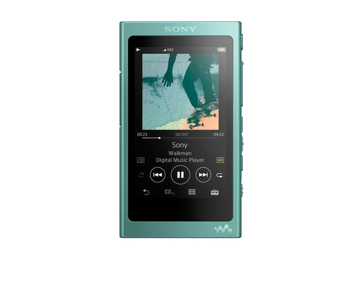SONY NWA45 VERDE HORIZONTE WALKMAN 16GB REPRODUCTOR DE AUDIO DE ALTA RESOLUCIÓN HI RES S-MASTER HX BLUETOOTH NFC NOISE CANCELLING