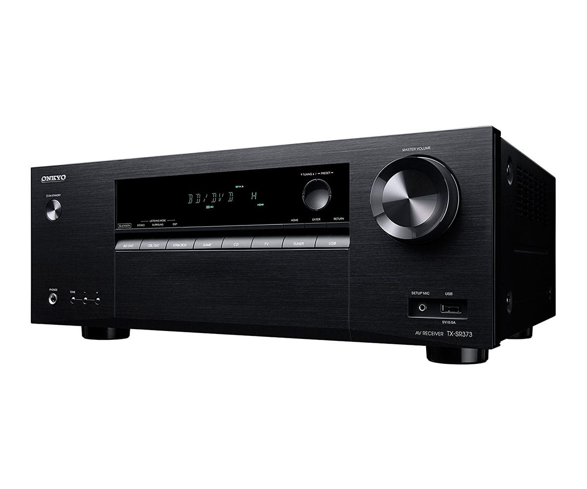 ONKYO TX-SR373 NEGRO RECEPTOR A/V DE 5.1 CANALES 135W DOLBY TRUEHD DTS-HD MASTER AUDIO ACCUEQ BLUETO - TX-SR373 NEGRO