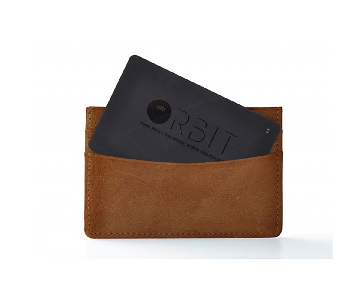 ORBIT CARD TRACKER NEGRO DISPOSITIVO DE BÚSQUEDA DE CARTERA Y MÓVIL CON ALARMA DE SEPARACIÓN - CARD TRACKER NEGRO