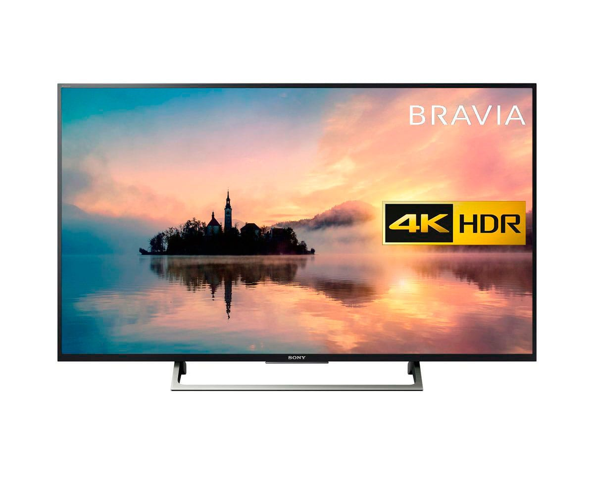 SONY KD-55XE7096 TELEVISOR 55'' LCD EDGE LED UHD 4K HDR 400Hz SMART TV WIFI HDMI USB GRABADOR Y REPRODUCTOR MULTIMEDIA Z REAC.