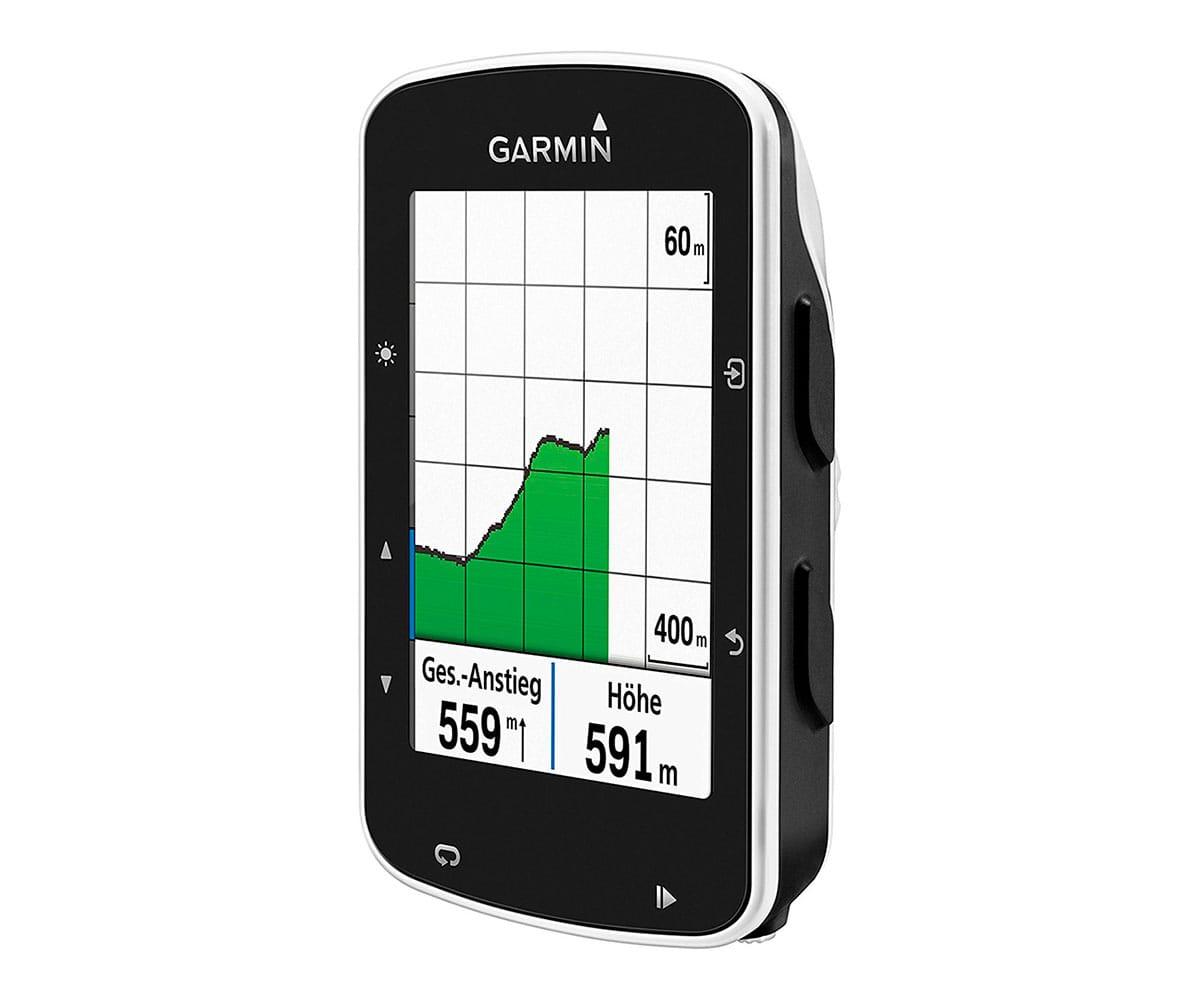 GARMIN EDGE 520 CICLOCOMPUTADOR 2.3 PARA BICI CON GPS GLONASS Y ALTÍMETRO BAROMÉTRICO FUNCIONES IN - EDGE 520