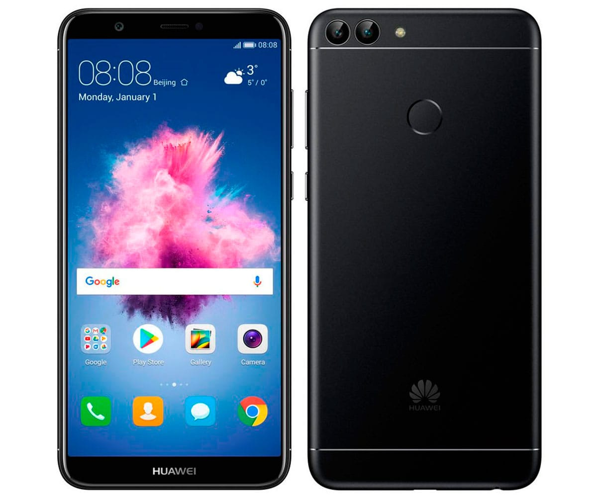 HUAWEI P SMART NEGRO MÓVIL 4G DUAL SIM 5.65 IPS FHD+/8CORE/32GB/3GB RAM/13MP+2MP/8MP - P SMART NEGRO IMP