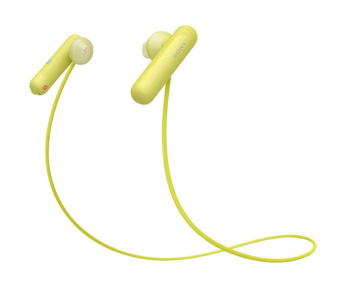 SONY WI-SP500 AMARILLO AURICULARES INALÁMBRICOS DEPORTIVOS BLUETOOTH NFC IPX4