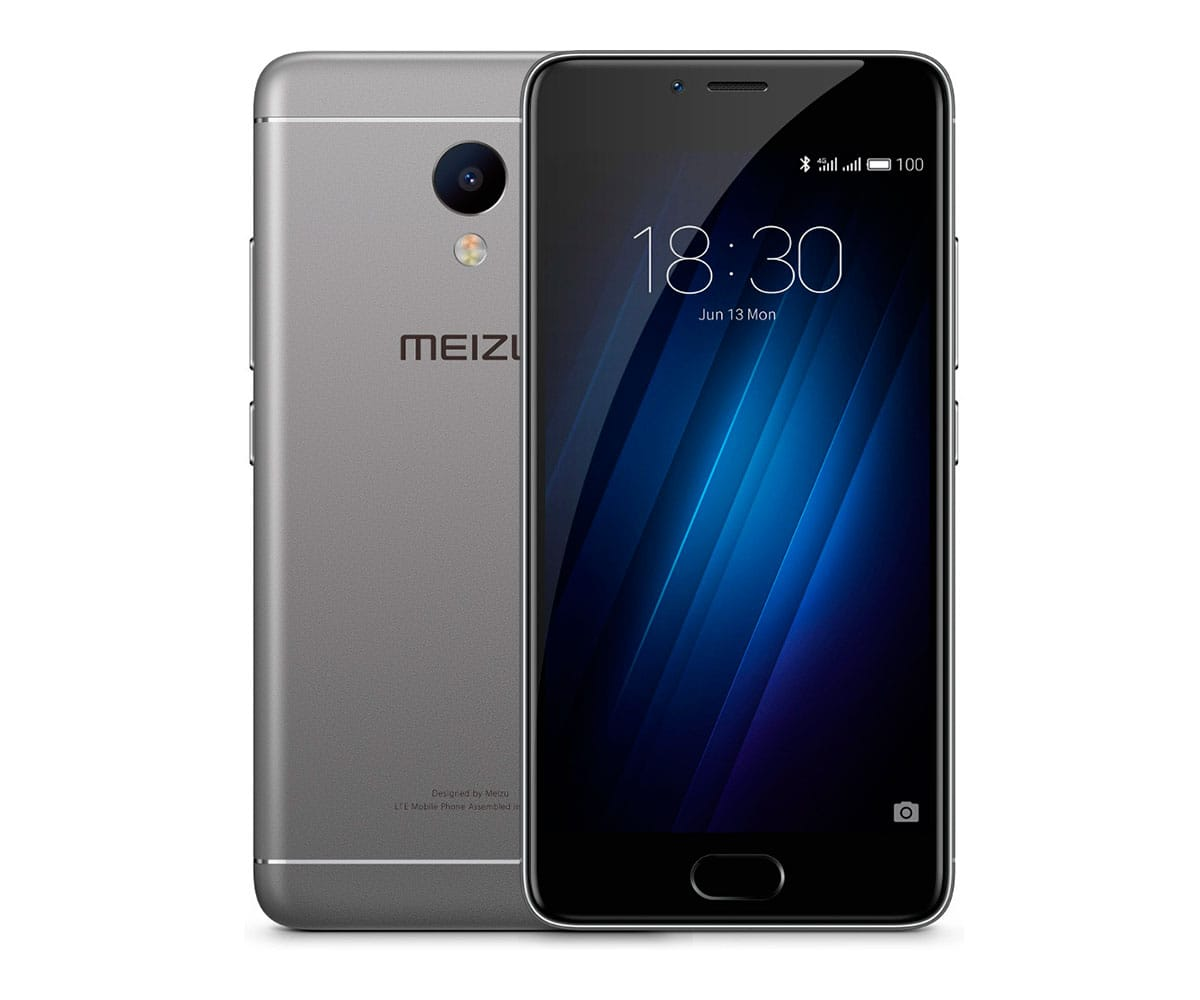 MEIZU M3S GRIS MÓVIL 4G DUAL SIM 5'' IPS HD/8CORE/16GB/2GB/13MP/5MP Z REAC.