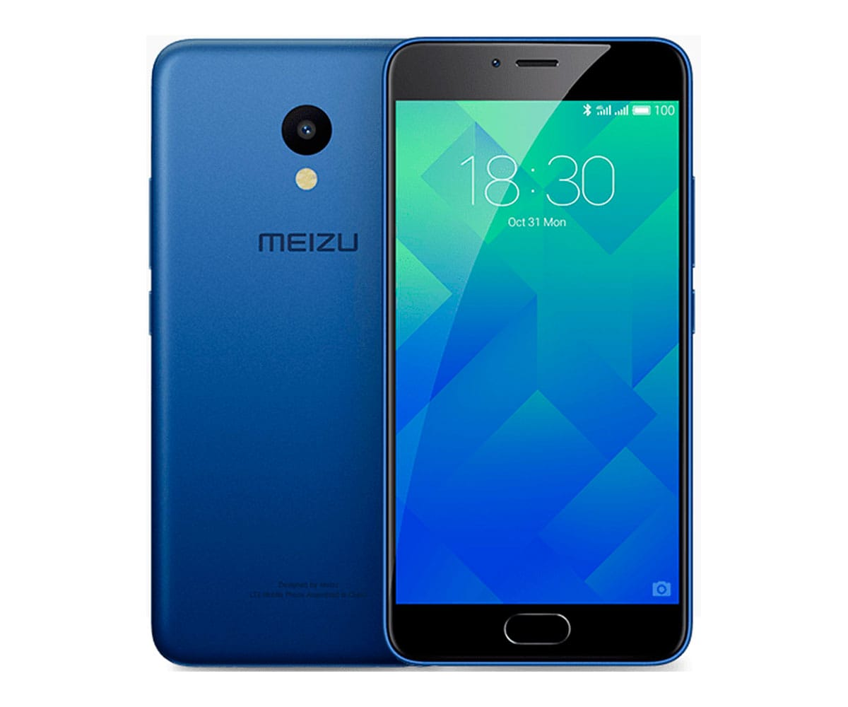 MEIZU M5 AZUL MÓVIL 4G DUAL SIM 5.2'' IPS HD/8CORE/16GB/2GB/13MP/5MP Z REAC.