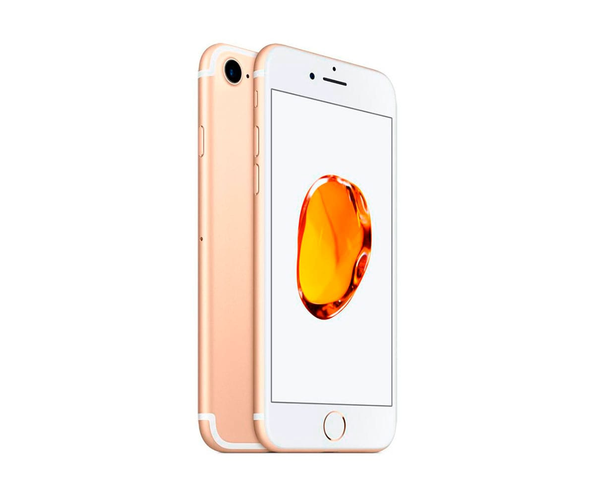 APPLE IPHONE 7 32GB DORADO REACONDICIONADO CPO MÓVIL 4G 4.7 RETINA HD/4CORE/32GB/2GB RAM/12MP/7MP