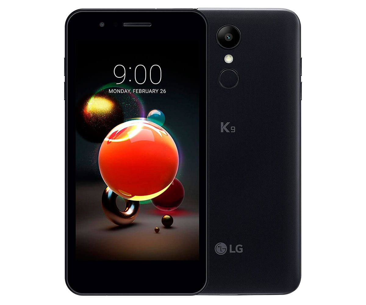 LG K9 NEGRO MÓVIL 4G DUAL SIM 5'' IPS HD/4CORE/16GB/2GB RAM/8MP/5MP