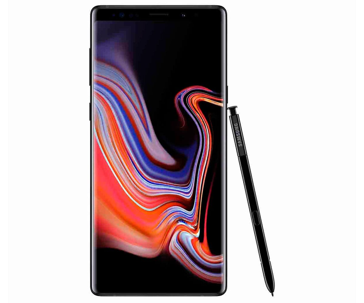 SAMSUNG GALAXY NOTE 9 NEGRO MÓVIL 4G SAMOLED 6.4 QHD+/8CORE/128GB/6GB RAM/12MP+12MP/8MP/S-PEN - GALAXY NOTE 9 128GB NEGRO