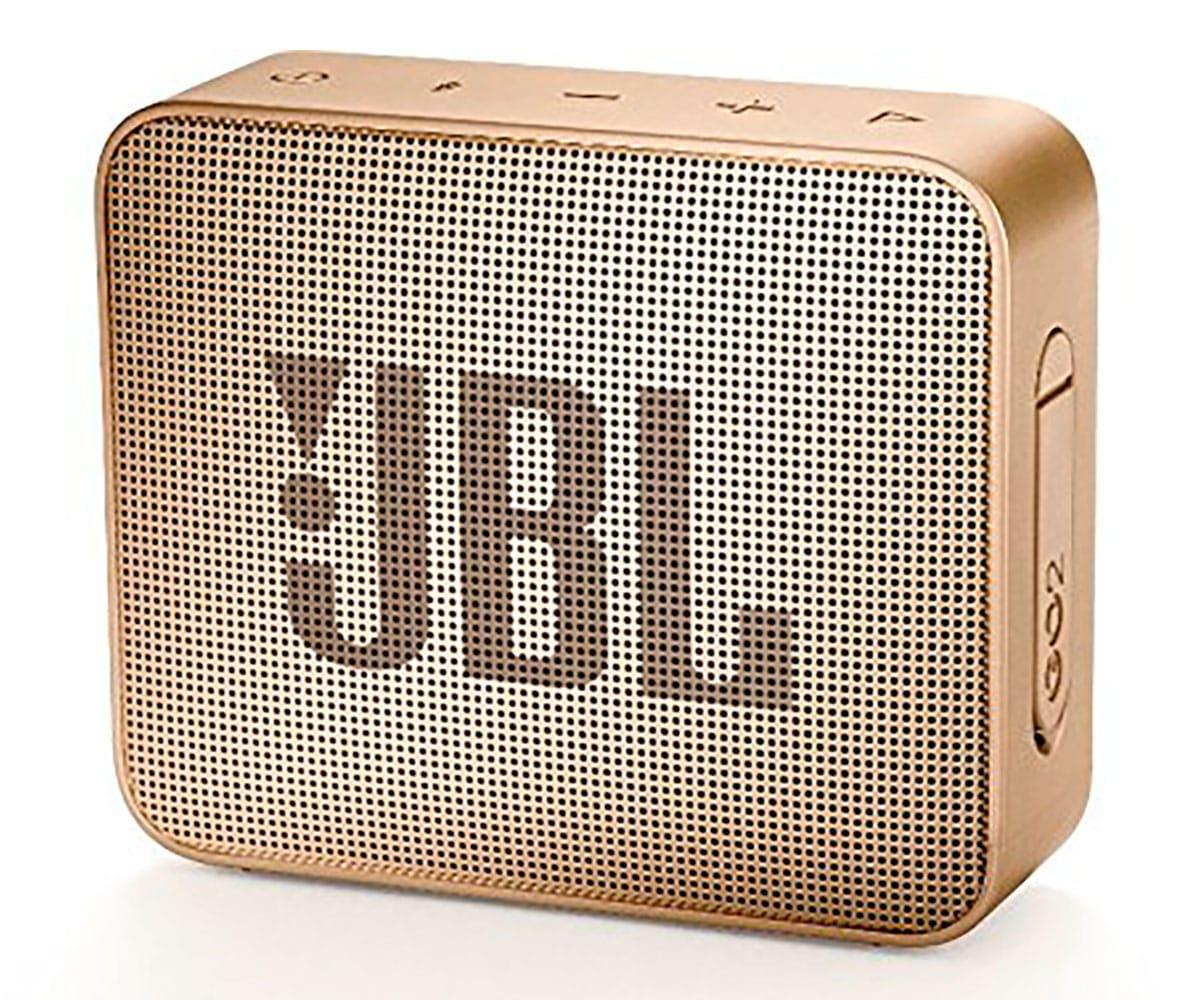 JBL GO2 CHAMPAGNE ALTAVOZ INALÁMBRICO PORTÁTIL 3W RMS BLUETOOTH AUX MICRÓFONO MANOS LIBRES IMPERMEAB - GO2 CHAMPAGNE