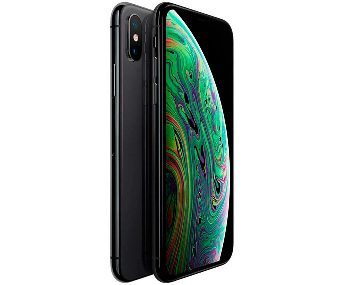APPLE IPHONE XS MAX 512GB GRIS ESPACIAL MÓVIL 4G 6.5'' SUPER RETINA HD OLED HDR/6CORE/512GB/4GB RAM/12MP+12MP/7MP