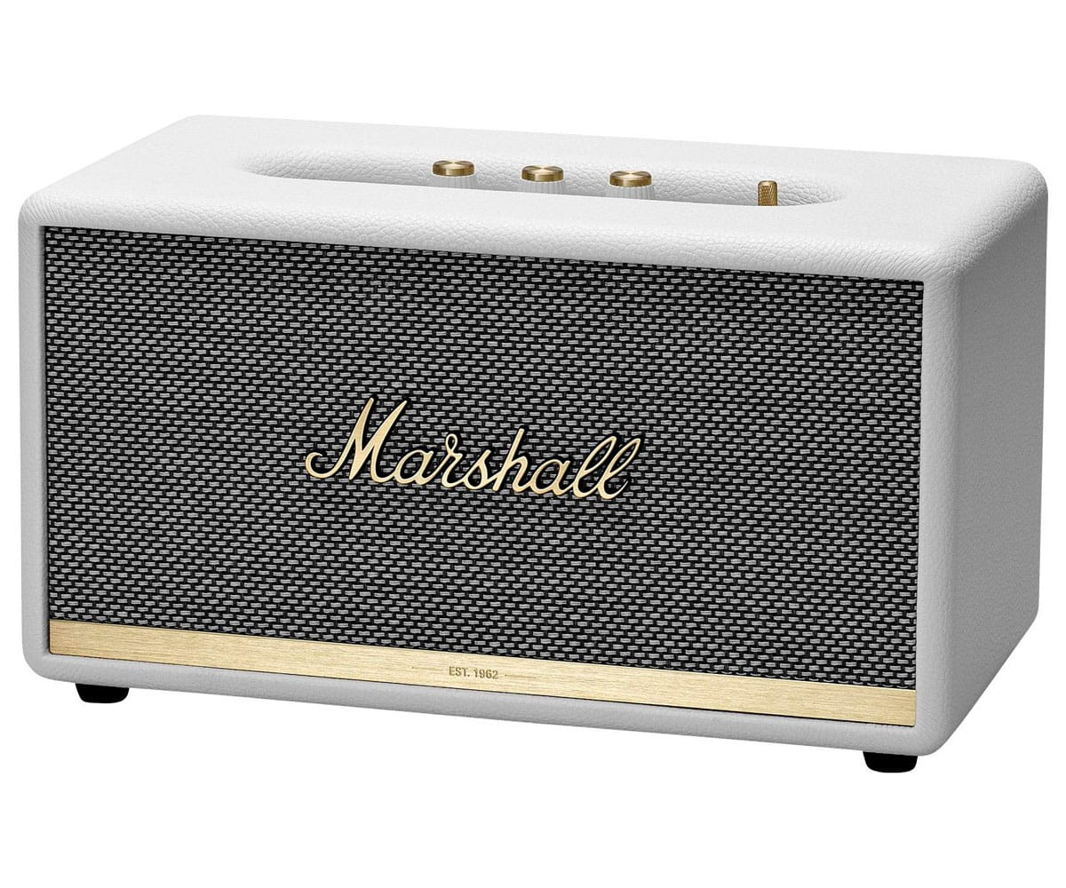 MARSHALL STANMORE II BLANCO ALTAVOZ BLUETOOTH 50W VINTAGE CON ASISTENTE GOOGLE - STANMORE II BLANCO
