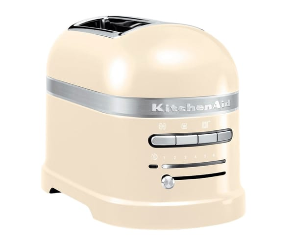 KITCHENAID 5KMT2204 COLOR CREMA 2 RANURAS