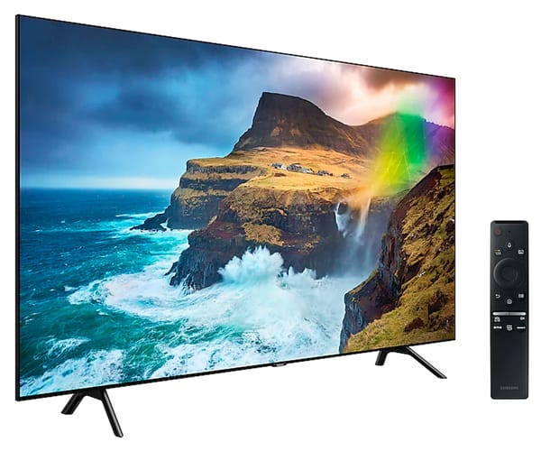 SAMSUNG QE49Q70RATXXC TELEVISOR 49'' QLED 4K 2019 DIRECT FULL ARRAY SMART TV WIFI BLUETOOTH AMBIENT MODE