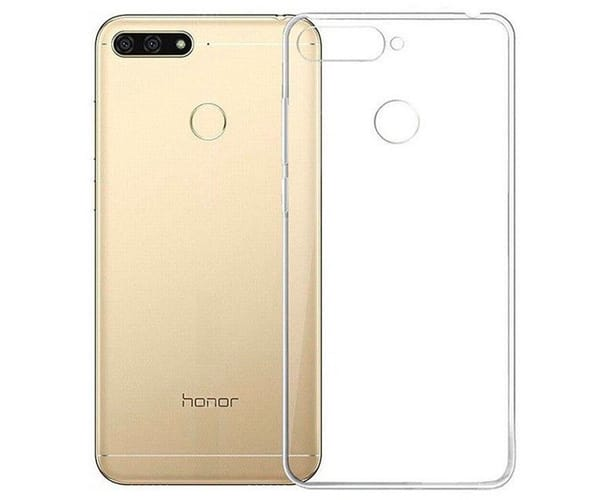 JC FUNDA SILICONA TRANSPARENTE PREMIUM 1.85mm HUAWEI Y6 2019 Y HONOR 8A