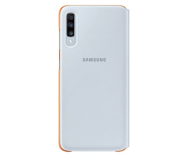 SAMSUNG FUNDA GALAXY A70 WALLET COVER BLANCO