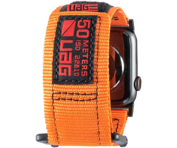 UAG ACTIVE BAND NARANJA CORREA PARA APPLE SMARTWATCH SERIE 1 A 4 TAMAÑO 44/42