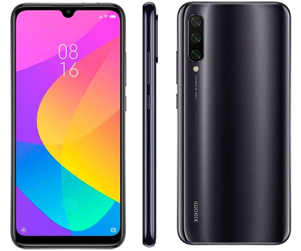 XIAOMI MI A3 GRIS MÓVIL 4G DUAL SIM 6.088'' AMOLED HD+/8CORE/128GB/4GB RAM/48+8+2MP/32MP