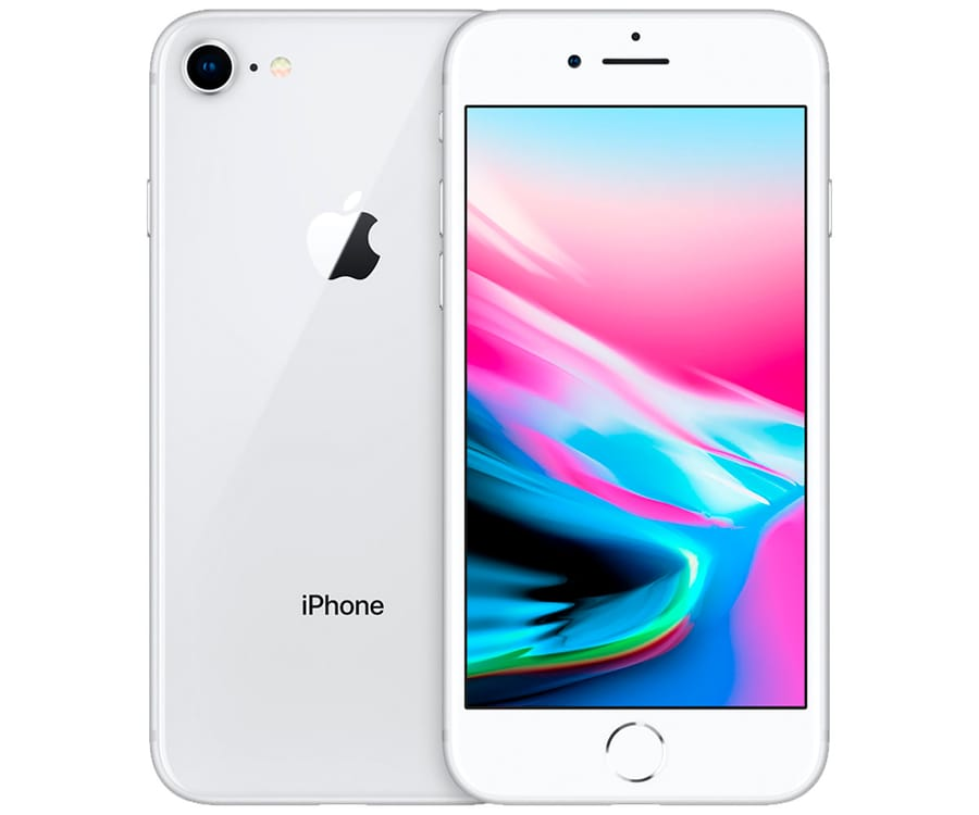 APPLE IPHONE 8 256GB PLATA REACONDICIONADO CPO MÓVIL 4G 4.7'' RETINA HD/6CORE/256GB/2GB RAM/12MP/7MP