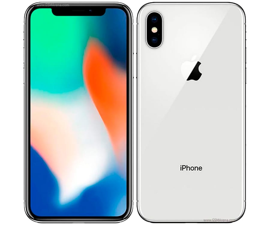 APPLE IPHONE X 64GB PLATA REACONDICIONADO CPO MÓVIL 4G 5.8'' SUPER RETINA OLED HDR/6CORE/64GB/3GB RAM/12MP+12MP/7MP