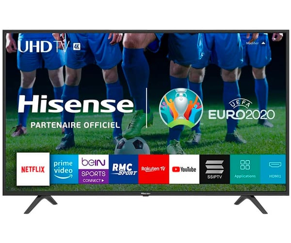 HISENSE H55B7100 TELEVISOR 55'' LCD DIRECT LED UHD 4K 1500Hz SMART TV WIFI CI+ HDMI USB REPRODUCTOR MULTIMEDIA