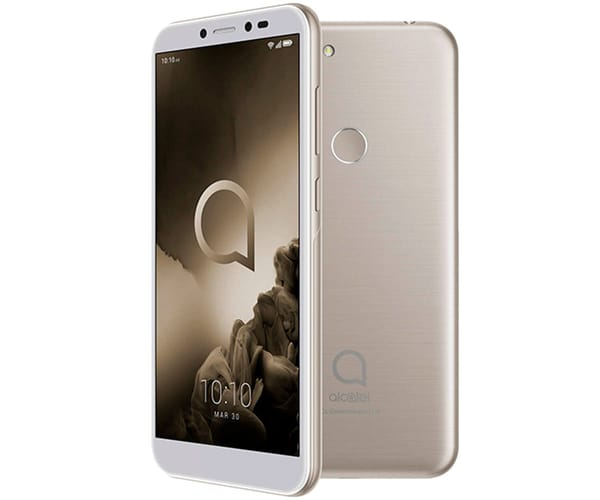 ALCATEL 1S DORADO METÁLICO MÓVIL 4G DUAL SIM 5.5'' HD+/8CORE/64GB/4GB RAM/13+2MP/5MP